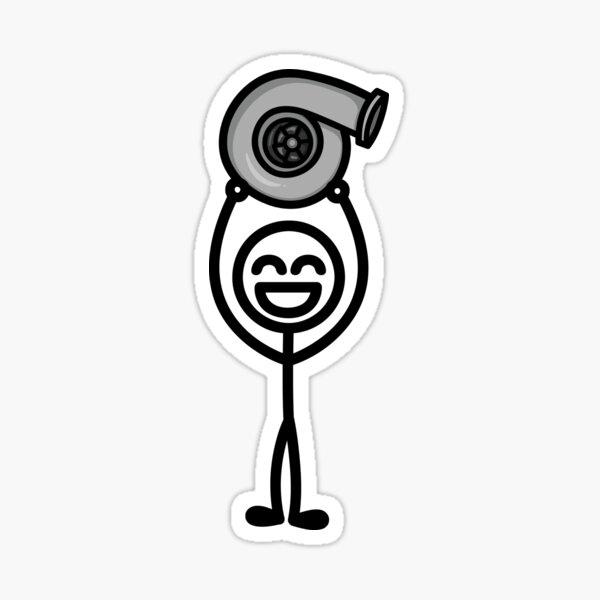 Turbo Guy Sticker
