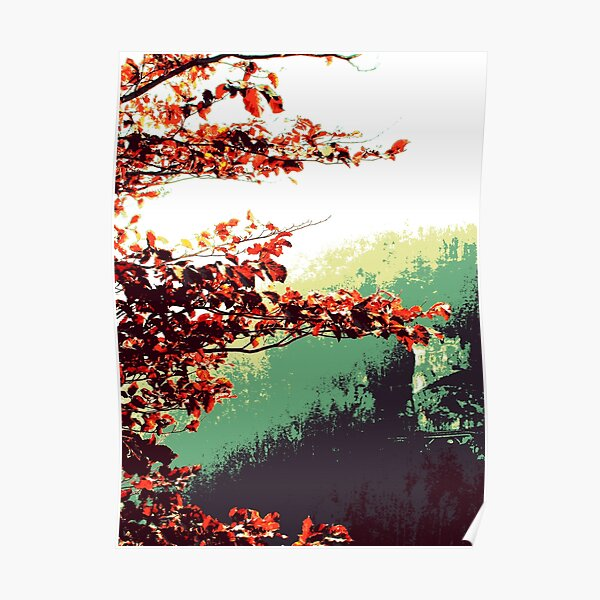 Herbst im Tal Poster