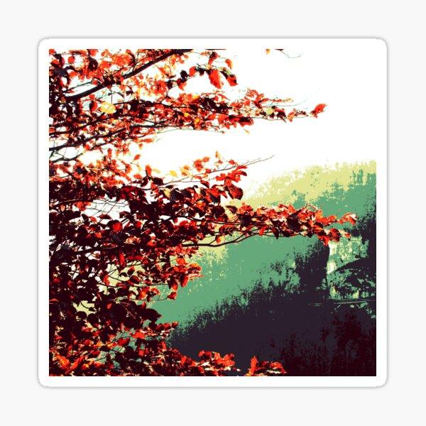 Herbst im Tal Sticker