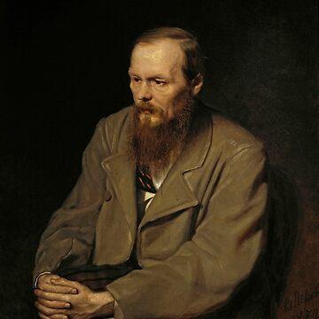 Fyodor Dostoyevsky by Vasily Perov by classicartcache