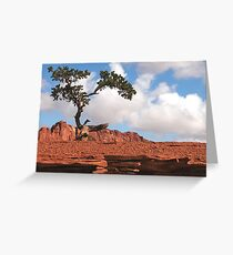 Lonely at the Top Greeting Card