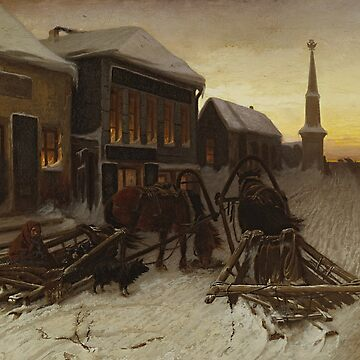 The Last Tavern at the City Gates by Vasily Perov by classicartcache