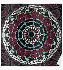 Mandala tapestry Poster
