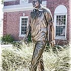 A Famous Walker In the Grass, John F. Kennedy  by daphsam