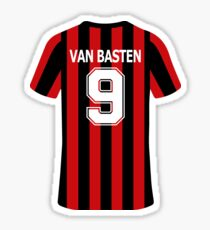 Marco Van Basten Jersey Sticker