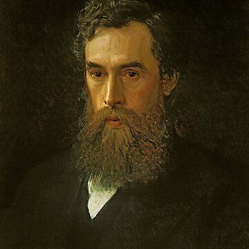 Portrait of Pavel Tretyakov by Ivan Kramskoy by classicartcache