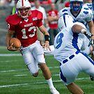 Scramble- Marist Quarterback Runs by rjhphoto