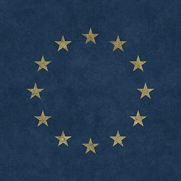 European Union Vintage Stars by Lidra