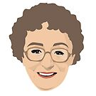Dame Thora Hird by gregs-celeb-art
