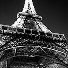Eiffel by Night by rjhphoto