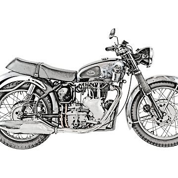 1952 Velocette Venom Motorcycle by surgedesigns