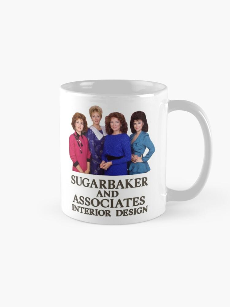 Alternate view of designing women Mug