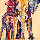 Elephants of Color by patrickraymond