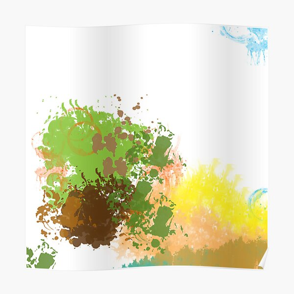 Abstract Landscape 1 Poster