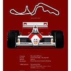 Formula 1 - McLaren MP4/4 - Geeky stats ! by JageOwen