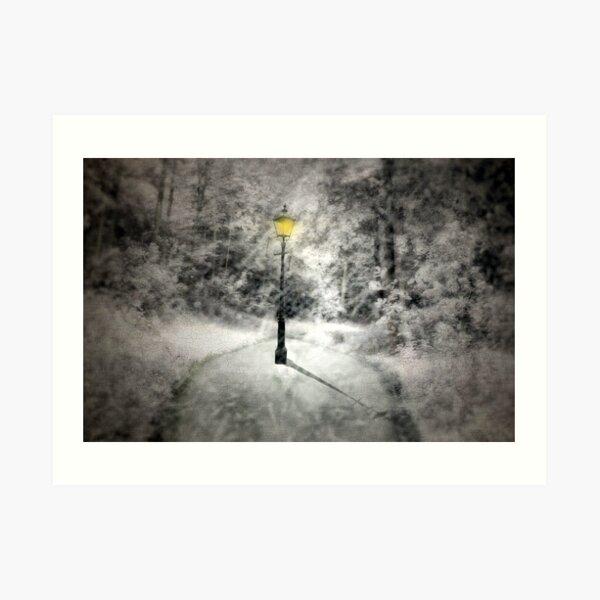 This way to Narnia Art Print