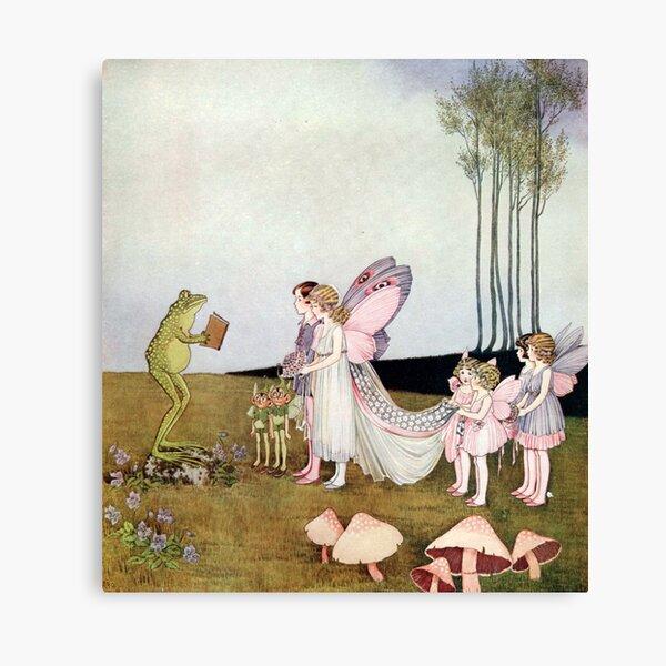 Fairy Wedding - Ida Rentoul Outhwaite  Canvas Print