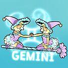 Gemini Zodiac Witch by evocaitart
