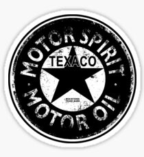 Vintage Texaco advert Sticker