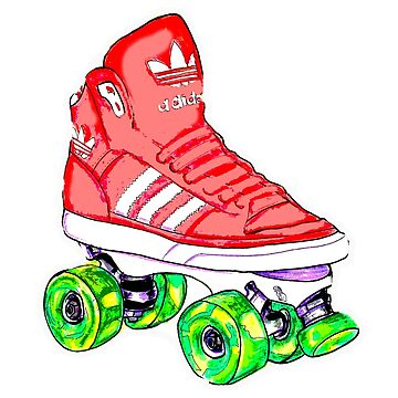 Pink Ad Pop Skate by brandydevoid