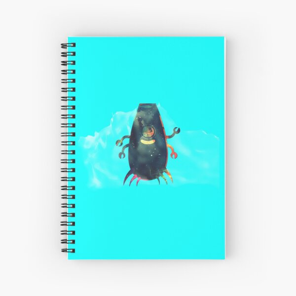 Twee - The Little Aquatic Monster Spiral Notebook