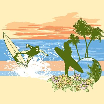 Surfing by T-ShirtsGifts