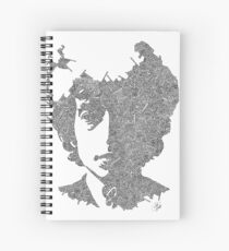 Garabato Bob Dylan Spiral Notebook