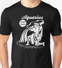 Aquarius Funny TShirt Epic T-shirt Humor Tees Cool Tee Unisex T-Shirt
