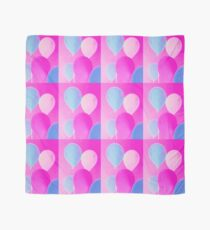 Gift for Teens - Balloony - Neon Pink Blue Balloons Art  Scarf