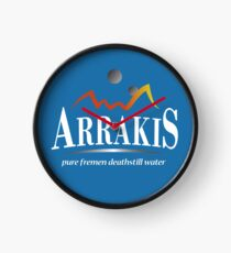 Arrakis Water Company (Dune) Clock