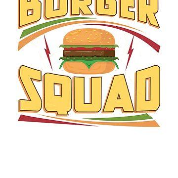 Burger Squad Cheeseburger by LemoBoy