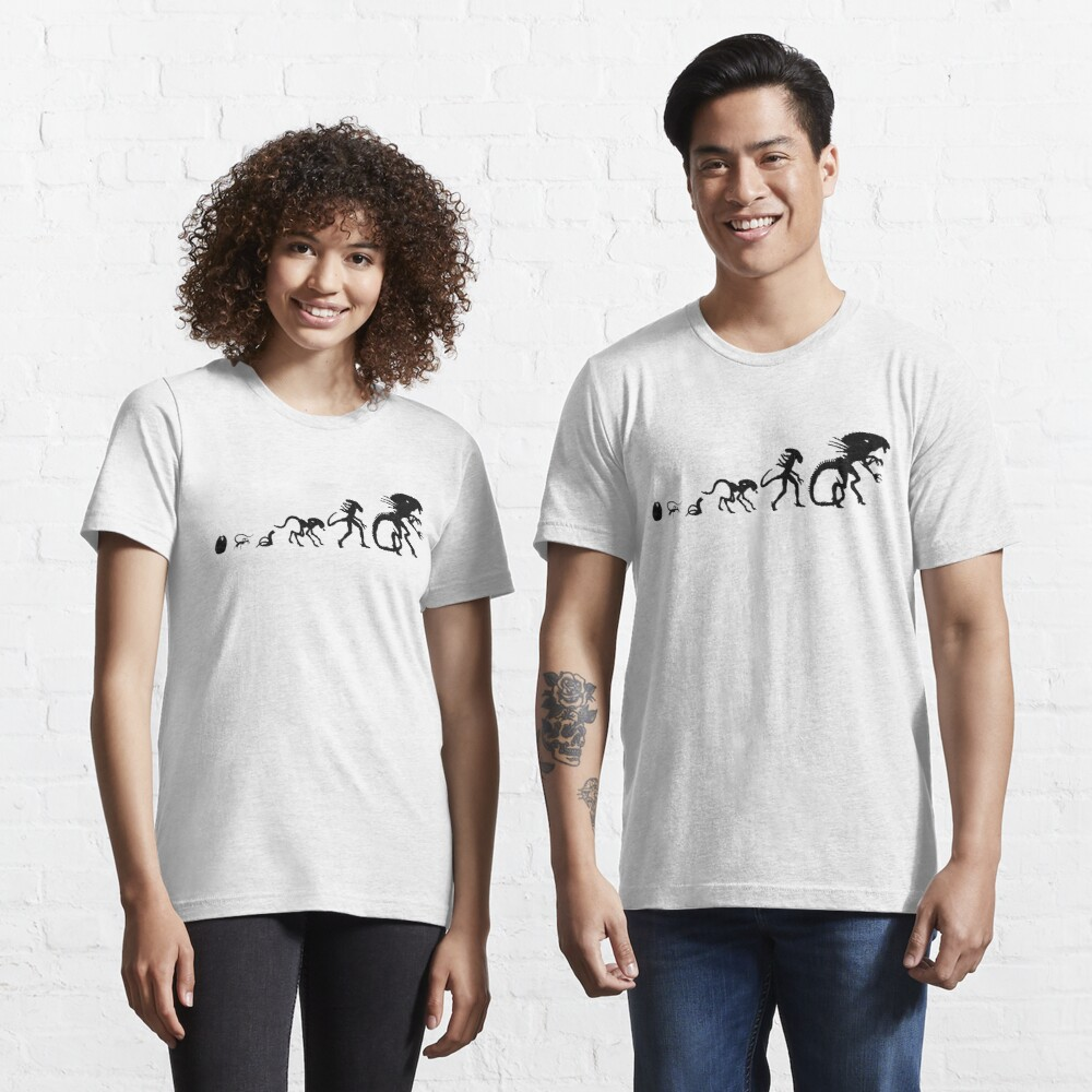 Xenomorph Alien Evolution Essential T-Shirt