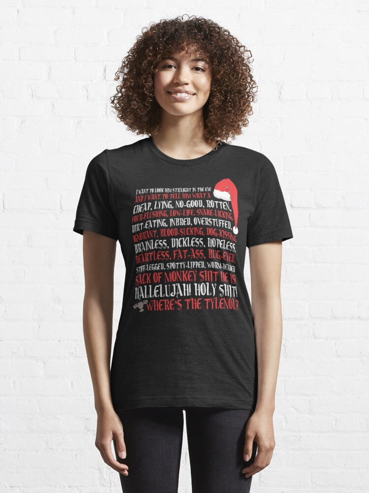 Alternate view of Hallelujah! Holy Sh*t!  Essential T-Shirt