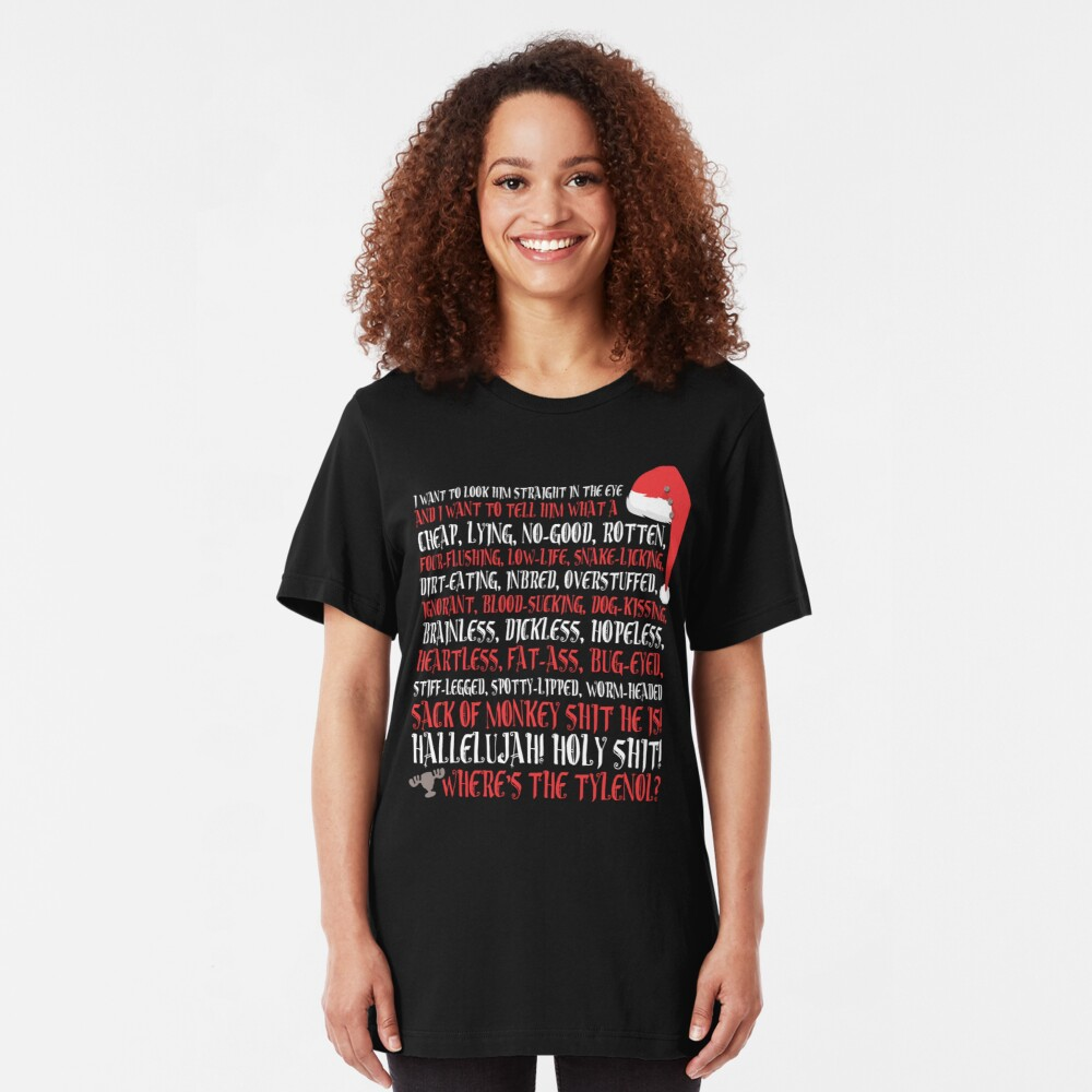 Hallelujah! Holy Sh*t!  Slim Fit T-Shirt