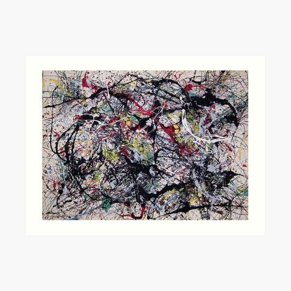 Puntos ciegos, Tate Liverpool - Jackson Pollock Lámina artística