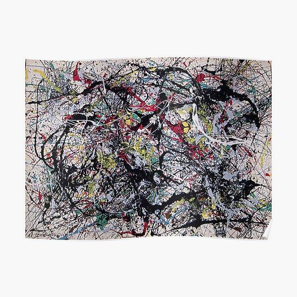 Blind Spots, Tate Liverpool - Jackson Pollock Poster