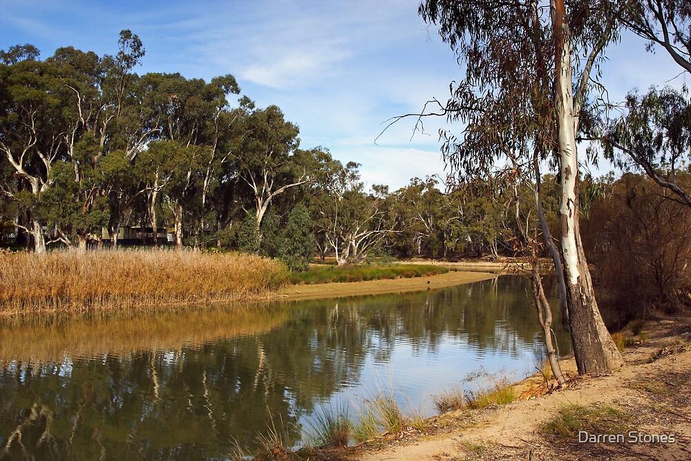 Edward River at Deniliquin by Darren Stones