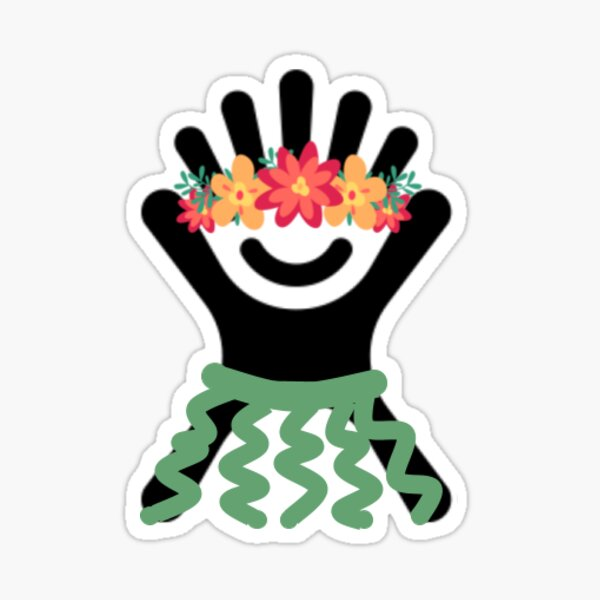 Hawaiian Hydro Logo Sticker