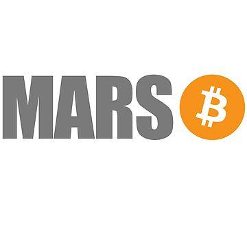 Bitcoin Occupy Mars by BitcoinBros