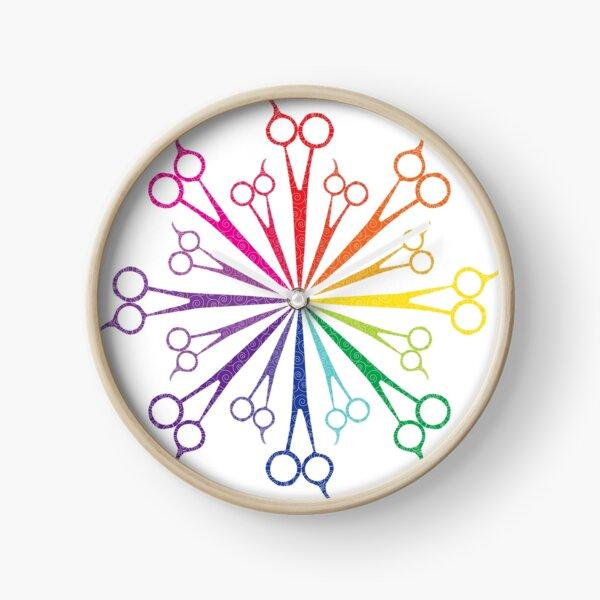 Scissors! Clock