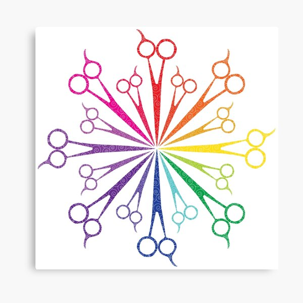 Scissors! Canvas Print