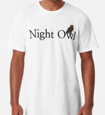 Night Owl Long T-Shirt