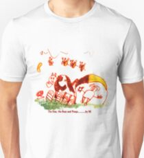 Pongo, cow and bees Unisex T-Shirt