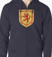 Royal Arms of the Kingdom of Scotland Zipped Hoodie