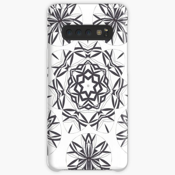 Lite on Dark Monochrome Blast Fall Into Winter Design by Green Bee Mee Samsung Galaxy Snap Case