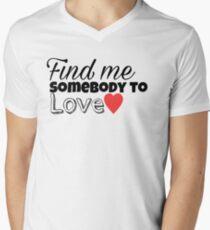 72bbdd758391 Somebody To Love Men s V-Neck T-Shirt