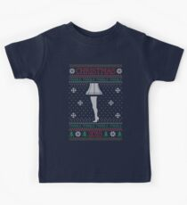Fra Gee Lay Ugly Christmas Sweater Kids Tee
