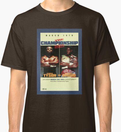 Tyson vs. Bruno, 1996 Camiseta clásica