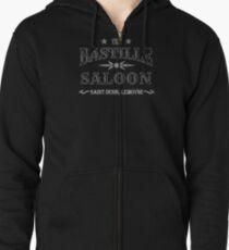 Sudadera con capucha y cremallera Bastille Saloon