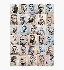 MMA collage inktober 2018 - [portrait layout] Photographic Print
